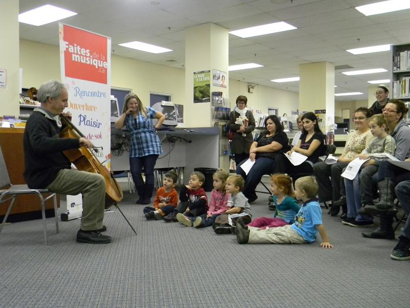 Activité de médiation culturelle avec David Ellis, oct. 2012