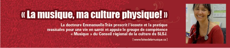 Docteure Emmanuelle Tran, porte-parole 2013-14